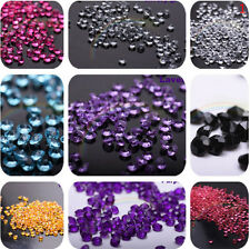 Diamond Confetti Table Scatters Clear 4.5mm Wedding Party Decor Decoration  SN