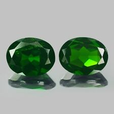 4.22 cts Chrome Diopside Oval Shape Green Color Loose Gemstone F507