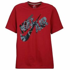 Nike Flight Heritage Camo T-Shirt Noble Red/Camo Men's Medium Large XL 2XL 3XL