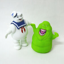 2pcs/set Ghostbusters Stay Puft Marshmallow Man Mini Figures Toys Doll Kids Gift