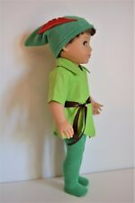 """Handmade Doll Clothes Peter Pan Costumes for 18"""" American Girl St. Patrick's Day"""