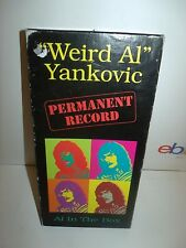 Permanent Record by Weird Al Yankovic (Cassette, Sep-1998, 4 Discs, Zomba (USA))