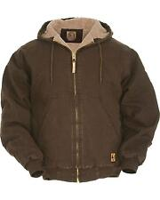 Berne Men's High Country Hooded Jacket Sherpa Lined - HW430ODR