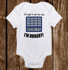 I'll spell it out for you onesies - Baby Unisex/Boy/Girl Onesie Funny Bodysuit