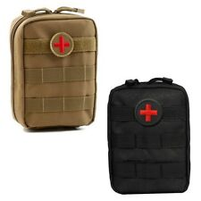 Outdoor Nice Molle Tactical Military 900D Bag Medical First Aid Pouch Case Tools