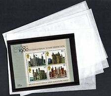 """Clear Face Bags (5"""" x 7"""")  - Stamps / Cards etc. FREEPOST"""