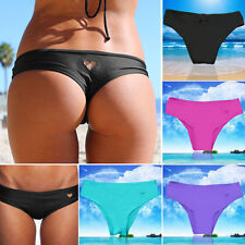 New Women's Brazilian Bikini Swimwear Bathing Beach Thong Ruched Scrunch Bottom