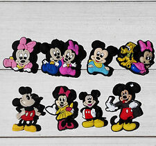 Mickey Minnie PVC shoe charms for croc/bracelet,Shoe Ornament,shoe decorate