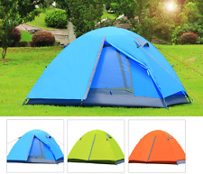2 Person Camping double rain-proof aluminum pole tent Waterproof Outdoor Hiking