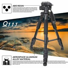 LOT Aluminum Alloy SLR Three Tripod with Ball Head Bag Travel for DSLR YK