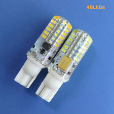 NEW T10 921 bulb AC12V DC12~24V 2W 48-3014 SMD LED Super Bright Silicone Crystal