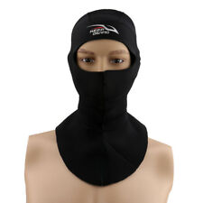 Winter Scuba Diving Snorkeling Water Sports Cap Hat Hood Neck Cover Black
