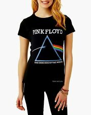 Pink Floyd Dark Side of the Moon T-Shirt rock Girls Official Top S M L XL NWT