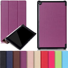 Shockproof Hybrid Leather PU Smart Flip Case Cover For Amazon Kindle Fire HD 7 8