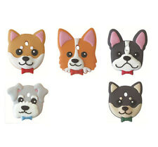Japanese Cute Cartoon Dog Corgi Shiba Inu Bulldog Schnauzer Pet Key Cover Shell