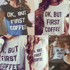 Fashion Womens Summer Short Sleeve Loose Cotton Blouse Casual Tops T-Shirt