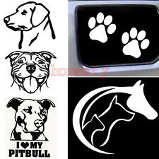 Dog Vinyl Decal Sticker Car Truck Window Bumper Wall Macbook PC Tablet 6 Types