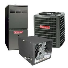 3.5 Ton 13 SEER 80% AFUE 80,000 BTU Gas Furnace AirConditioner System Horizontal