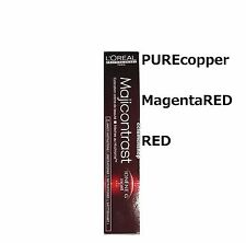 Choose ^^ Loreal Professional Majicontrast Hair Colour Dye pure copper Red