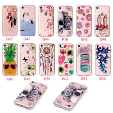 For Apple iPhone Transparent Ultra Thin Soft TPU Gel Silicone Back Case Cover