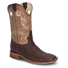 Mens Brown Rodeo Collection Western Cowboy Boots BONANZA 4004 Size 6-13 (D, M)