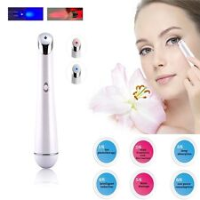 Mini Electric Eye Wrinkle Removal Beauty Care LED Therapy Vibration Massager