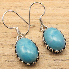PURPLE COPPER TURQUOISE & More Gem Variation TRIBAL Earrings, 925 Silver Plated