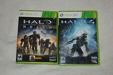 Halo: Reach  (Xbox 360, 2010   / Halo 4  (Xbox 360, 2013 )    ( lot 2 )