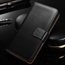 For LG L5 II 2 E460 Genuine Leather Card Holder Wallet Flip Stand Case Cove E