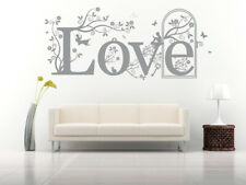 Love Quote, Vinyl Wall Art Stickers, Mural, Decal. Home, Wall Decor.