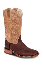 Womens Chocolate Cowgirl Western Leather Rodeo Boot REDHAWK 5146 Size 5-10 (B,M)