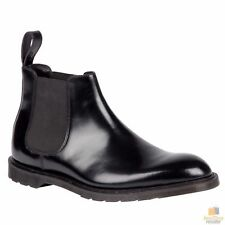 Dr. Martens Unisex 1460 MONO 8 Lace Up Genuine Smooth Leather Boots Shoes Doc