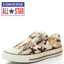 CONVERSE CHUCK TAYLOR ALL STAR MENS BROWN/BEIGE CASUAL PLIMSOLLS TRAINERS