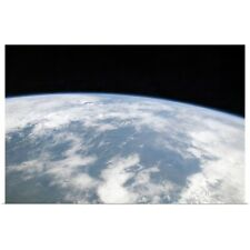 Poster Print Wall Art entitled View of planet Earth from space