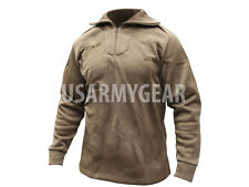 NEW ECWCS POLYPRO COLD WEATHER THERMAL UNDERSHIRT/SHIRT COYOTE BROWN M L XL 2XL