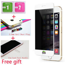 Tempered Glass Private Privacy Anti Peek Screen Protector For iPhone 6 6S 7 Plus