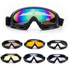 Ski Goggles Anti Fog Skiing Snowboard Motorcycle Bike Glasses UV400 Windproof