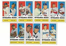 2006 Topps 52 DYNAMIC DUOS Insert Single Cards 1952 Rookie Card Logo RC 06