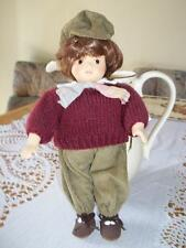 """Vintage Porcelain Collectible 10"""" Tall Doll German/Paris Adult Collector Dolls"""