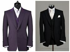 New Fashion Best Man Groomsmen Suit Wedding Groom Tuxedos Dinner Party Prom Suit