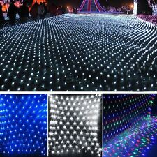 2M 144 Led Bulbs Net Fairy Lights For Xmas Party Wedding Outdoor Decoration TXGT