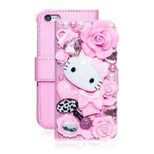 Luxury 3D Hello Kitty Crystal Rhinestone Bling Iphone 7/7S Phone Wallet Case