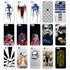 Hot Star Wars Character Movie Storm Trooper Darth Vader Yoda TPU Case For iPhone