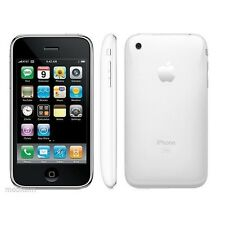 "Unlocked Original Apple iPhone 3GS iOS -16 GB -  3.5"" Smartphone White/Black"