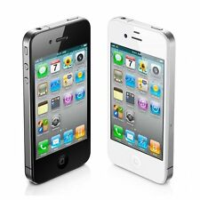 Unlocked Apple iPhone 4 4G iOS 8GB 3.5 Original Smartphone 3G White/Black WIFI