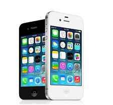 "Apple iPhone 4S - iOS 8GB 3.5"" Unlocked Smartphone 3G White/Black WIFI Original"
