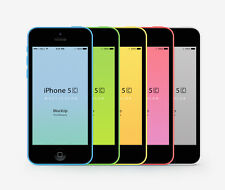 Unlocked Apple iPhone 5C- iOS 32GB 4.0 Inch 4G LTE Siri 8MP Smartphone Original