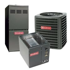 4 Ton 14 SEER 80% AFUE Two Stage Gas Furnace & Air Conditioner System, Upflow