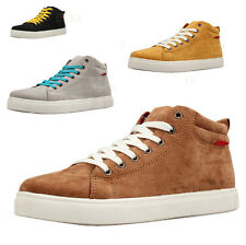 2017 Men's  Casual High Top Sneaker Lace Up Fashion Breathable Canvas Board Shoe