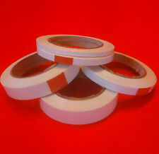12 rolls double sided high tack craft tape 6mm - 50mm x 33mtrs.